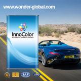 Cahier de mélange automobile de couleur solide de la peinture 2k