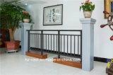 Barandilla de acero galvanizada decorativa de alta calidad 15 del balcón de la aleación de Haohan Alluminum