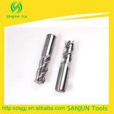 Cortadores del molino de extremo del carburo 3 cortadores de aluminio del molino de extremo de las flautas