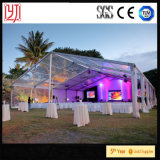 шатер ткани PVC 30X30m UV-Упорный водоустойчивый прозрачный для партии банкета