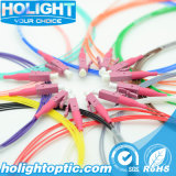 Coleta óptica LC Om4 0.9m m de fibra de 12 colores