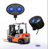 Luz de advertência segura Pedestrian 9V do armazém da luz do ponto claro de segurança do Forklift do diodo emissor de luz - 80V azul do diodo emissor de luz 10W