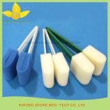 Équipement dentaire Poignée en plastique Sponge Swab Stick