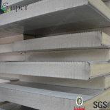 pannello a sandwich del tetto dell'unità di elaborazione di spessore di 50mm, prezzo del pannello a sandwich dell'unità di elaborazione