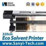 impresora grande de la impresora de la inyección de tinta de la última cabeza de impresora Dx8 del 1.8m/3.2m