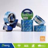 Colle à base d'eau BOPP Ruban d'emballage transparent en cristal pour l'étanchéité du carton
