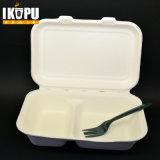 Contenitore biodegradabile della polpa del contenitore di alimento della bagassa della canna da zucchero