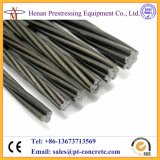 Cnm Low Relance High Tensile 12.7mm Pretressed Cable