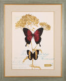 Pintura al óleo de la decoración de la flor del arte de la pared en el marco de madera