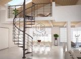 Fabricantes de la escalera/escalera espiral de madera para los pequeños espacios