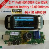 Heißes Gedankenstrich-Auto DVR des Verkaufs-2.7inch mit, WDR, Nachtsicht, G-Fühler, Superkondensator, H. 264, Kamera DVR-2712 des Auto-5.0mega