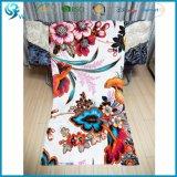 Promotinalの厚く贅沢な綿のベロアは双方タオルを印刷した
