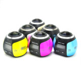 FHD 3D 360 둥근 렌즈를 가진 파노라마 Vr 활동 사진기