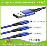 Multi USB 3 in 1 cavo per la carica ed i dati