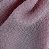 Светлая цветастая мягкая сплетенная ткань Crinkle полиэфира