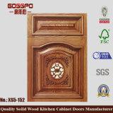 旧式なルーバー付きの食器棚のドア(GSP5-037)