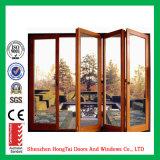 Дверь складчатости оптовой цены по прейскуранту завода-изготовителя алюминиевая (HT-YY26)