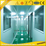 Perfil de aluminio limpio anodizado modificado para requisitos particulares profesional para el sitio limpio
