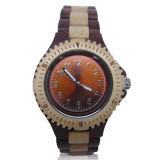 2016 het nieuwe Ontwerp Differet kleurt Houten Horloge