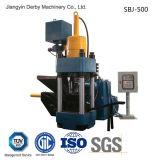 Briqueta hidráulica de aluminio automática del desecho de metal del hierro de Briquetters que recicla la máquina-- (SBJ-500)