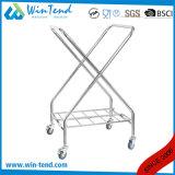 Structure en X tous les types de chariot de toile à hôtel solide de service d'étage et de ménage avec de bons prix