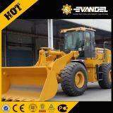 Chargeur sur pneus Shangong Sem655D / 5 tonnes Capacité de charge + 3m3 Godet / Weichai Engine 162kw