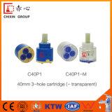Патрон пластичного Faucet отверстия POM&Fast Faucet керамический