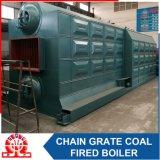 De industriële Boiler van het Hete Water van de dubbel-Trommel Szl7-1.0MPa Horizontale Met kolen gestookte