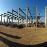 Magazzino prefabbricato chiaro dell'acciaio per costruzioni edili per la Colombia