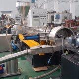 PE pp CaCO3 Witte Masterbatch Co-Roteert de TweelingMachine van de Extruder van de Schroef