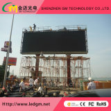 Publicidad comercial al aire libre, pared video del LED, visualización de LED a todo color/cartelera/pantalla