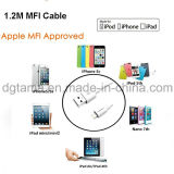 8pin USB iPhone 6 7 iPad를 위한 Mfi에 의하여 증명되는 번개 케이블