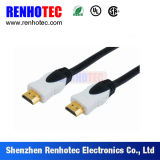 Bonne qualité HDMI tournant les prises électriques