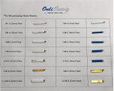 50 PCS entkeimte Qualitäts-Metallscharfe Nadel-Schaufeln