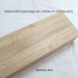 Productos de madera de bambú modificados para requisitos particulares del arte de la caja de embalaje del cuchillo