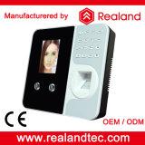 Biometrische Gesichtserkennung Fingerabdruck-Zeit-Anwesenheits-System mit freiem Sdk