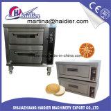 Forno della piattaforma del forno per il biscotto e la pizza con la doppia piattaforma