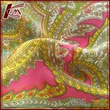Nueva tela de seda impresa Digitaces de encargo del Crepe de la alta calidad 12m m del diseño