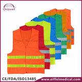 120g het Engelse Vest van de Veiligheid van het 20471:2013 van ISO Medische Weerspiegelende