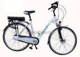 Bici elettrica M750 la garanzia elettrica a basso rumore eccellente elettrica di Ebicycle della città della bici certificata En15194 del Ce dell'onda di seno della bici di Monca 2 anni