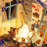 Venta caliente 2017 que ensambla la casa de muñeca de madera del juguete DIY para el detective Conan del regalo del Año Nuevo del juguete de Educatonal del kit