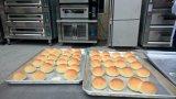 Four électrique de la qualité 3 du paquet 9 de boulangerie fiable de plateau pour le pain/pizza