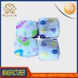 Feito no fabricante sonolento descartável dos tecidos do bebê de China em Fujian