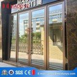 Puerta de cristal del resorte del marco de aluminio para el anuncio publicitario