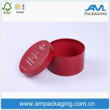 Papiergeschenk-Verpackungs-kundenspezifisches Firmenzeichen-rundes Gefäß-verpackenkasten für Verkauf