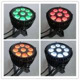 iluminación barata impermeable al aire libre de la etapa DMX512 de 9X15W Rgbaw 5in1