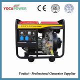 5kVA kleine Diesel van de Motor van de Macht van het Huis Luchtgekoelde Generator