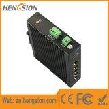 as portas de Ethernet de 5 megabits 1gbps controlaram o interruptor de rede industrial