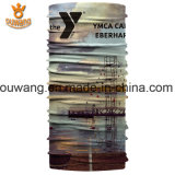 Bandanas de encargo baratos de la alta calidad material popular de Mircofiber con insignia