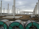 Stahlkonstruktion|Stahl-Halle|Stahldach|Stahl strukturell